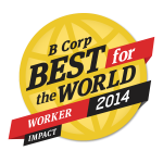 B Corp Best for the World Worker Impact