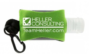 Heller Hand Sanitizer at Dreamforce