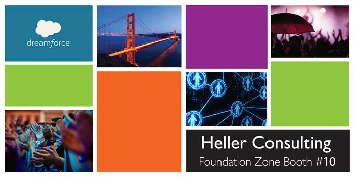 Dreamforce Heller Nonprofit Salesforce Foundation