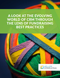 Cover image for CRM through the lens of fundraising best practices guide